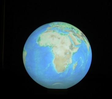 Proiezione pianeta Terra