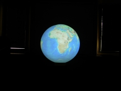 Il Pianeta Terra proiezione fisica
