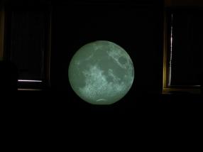 Proiezione della Luna